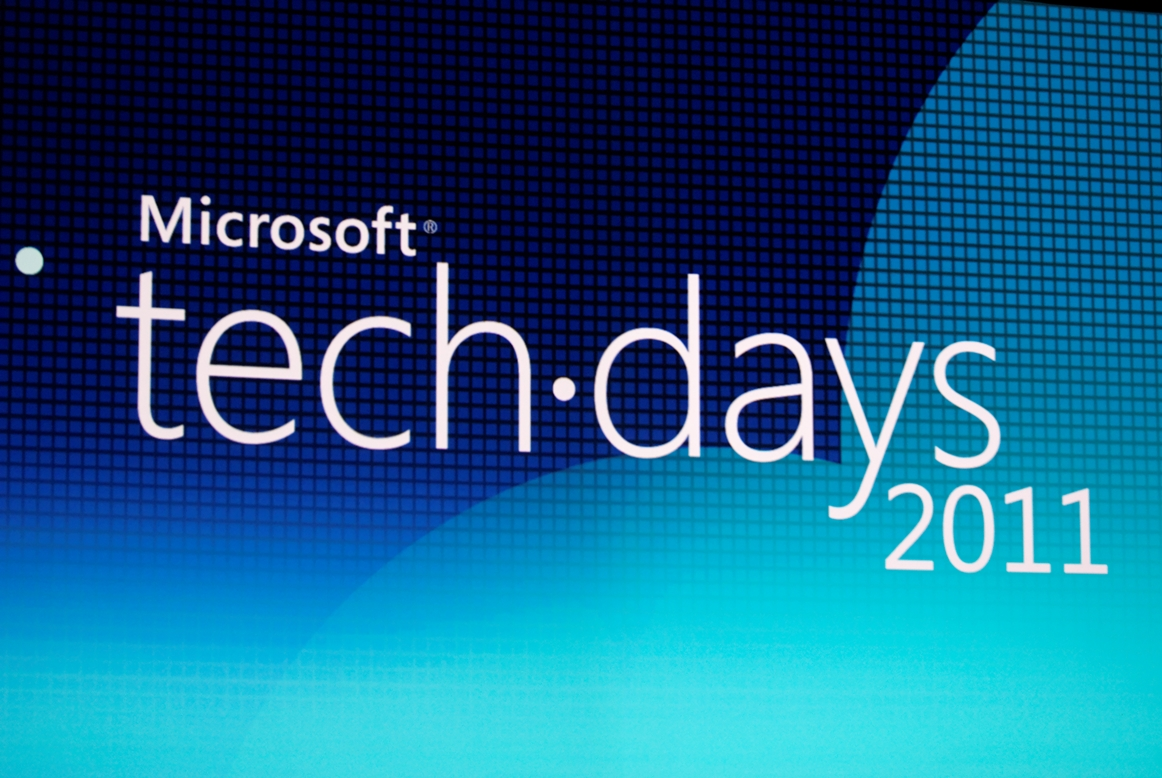 Techdays 2011 – Session Interfaces naturelles