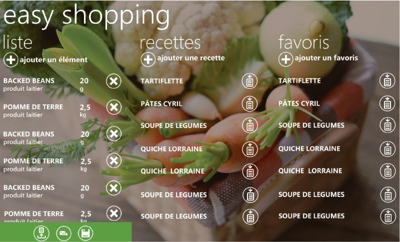 Easy Shopping – A Windows Phone 7 application