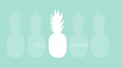 Minor trend – Mint color