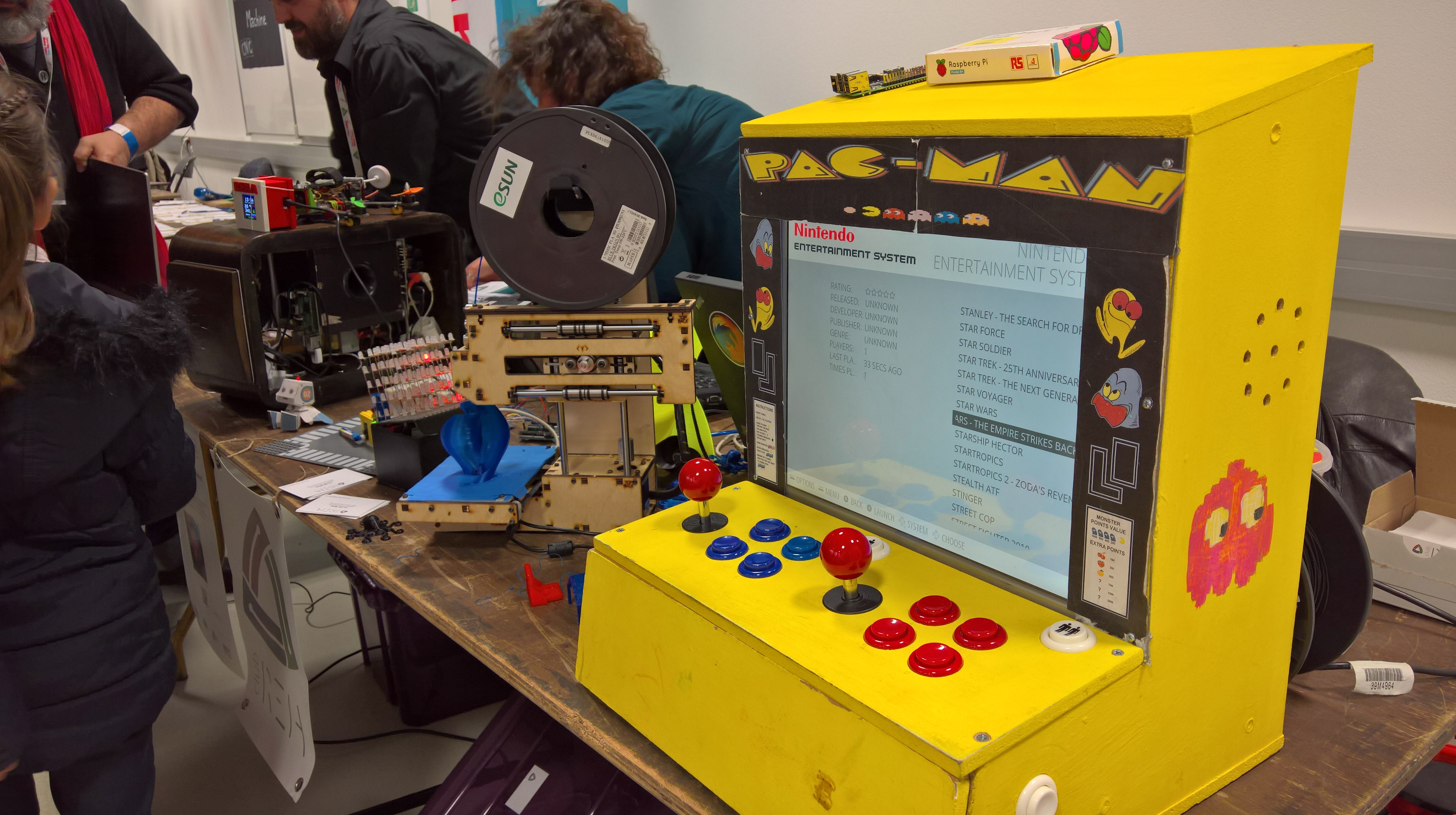 Petit mais costaud – Mini Maker Faire de Saint Malo
